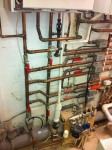Heating Pipes Installation
